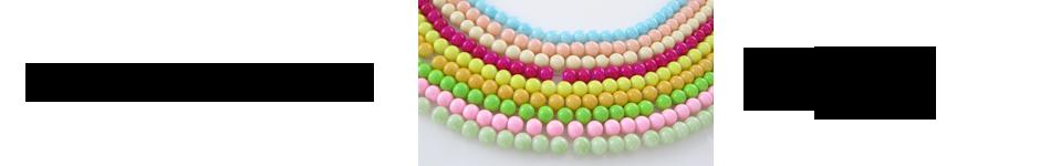 Bojene staklene perle